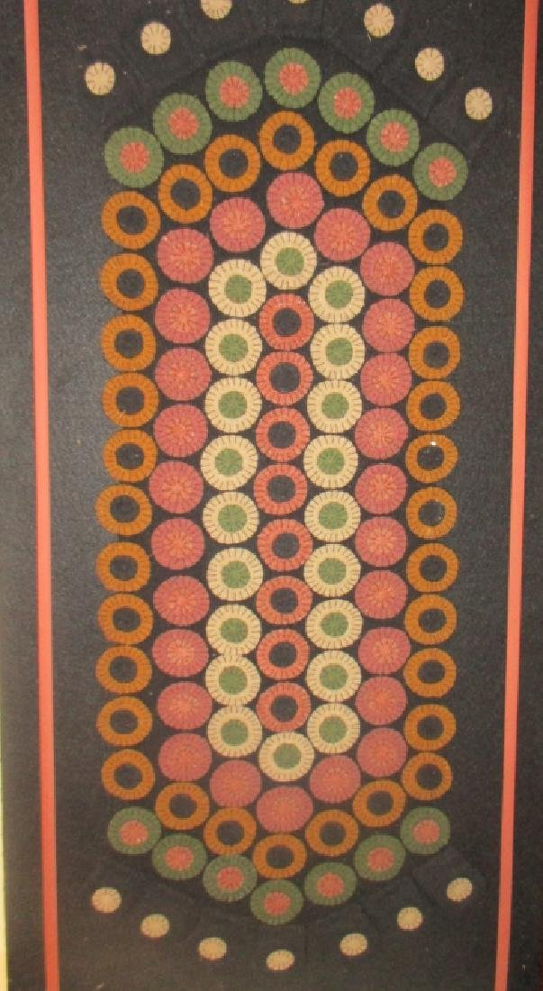 Mid-Century Applique Tapestry