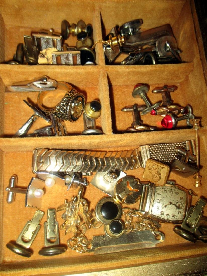Box Lot of Men's Jewelry