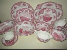 Partial Set of Johnson Bros. England China