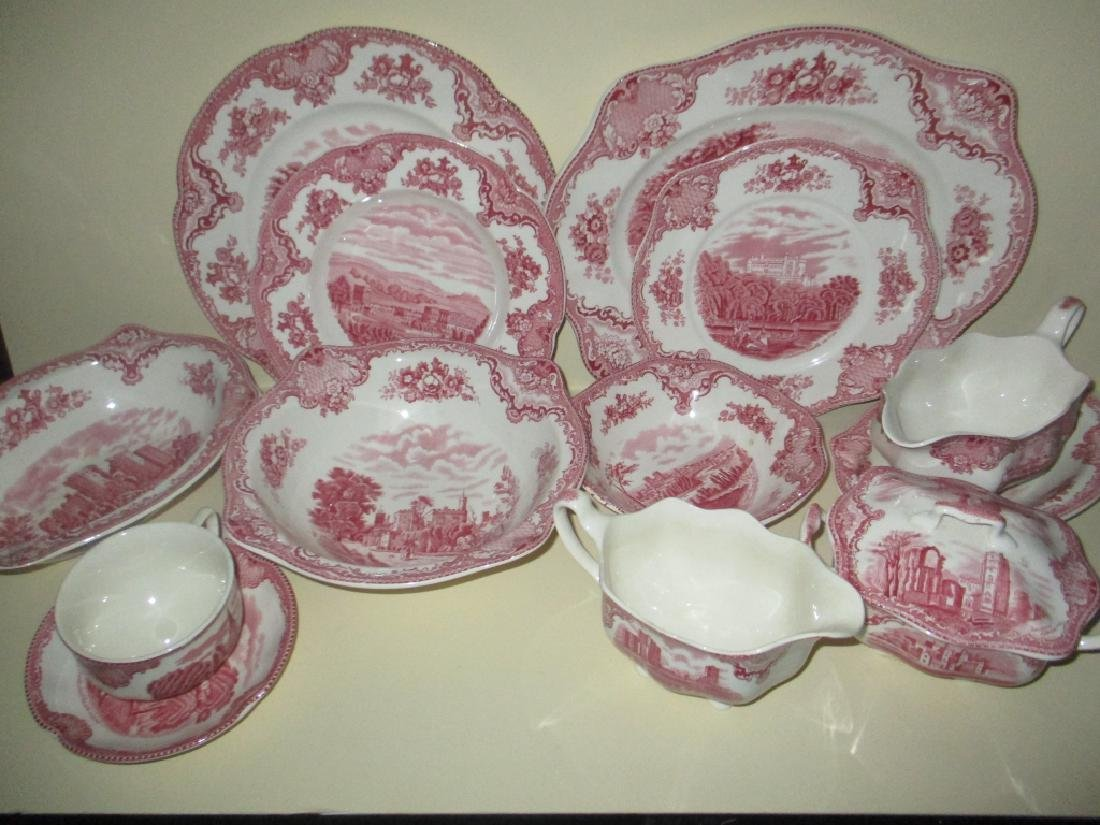 Partial Set of Johnson Bros. England China