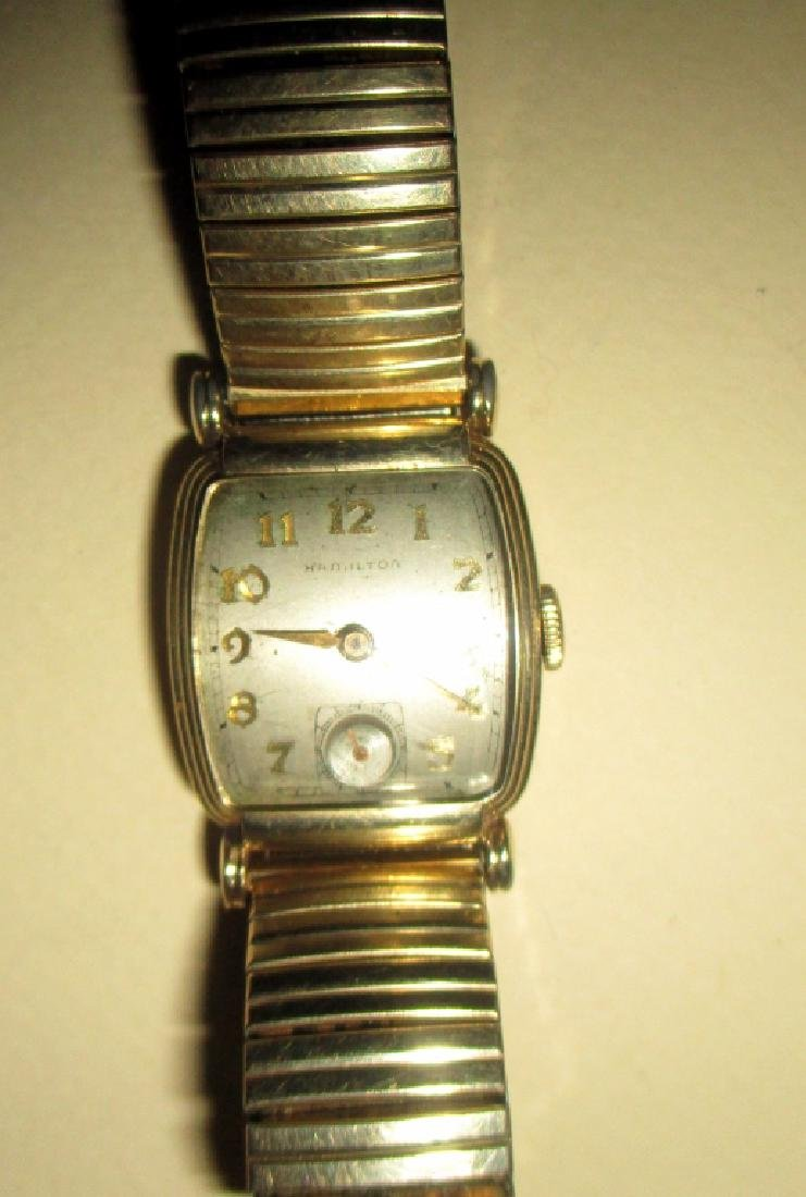 Man's Gold Filled Hamilton Watch
