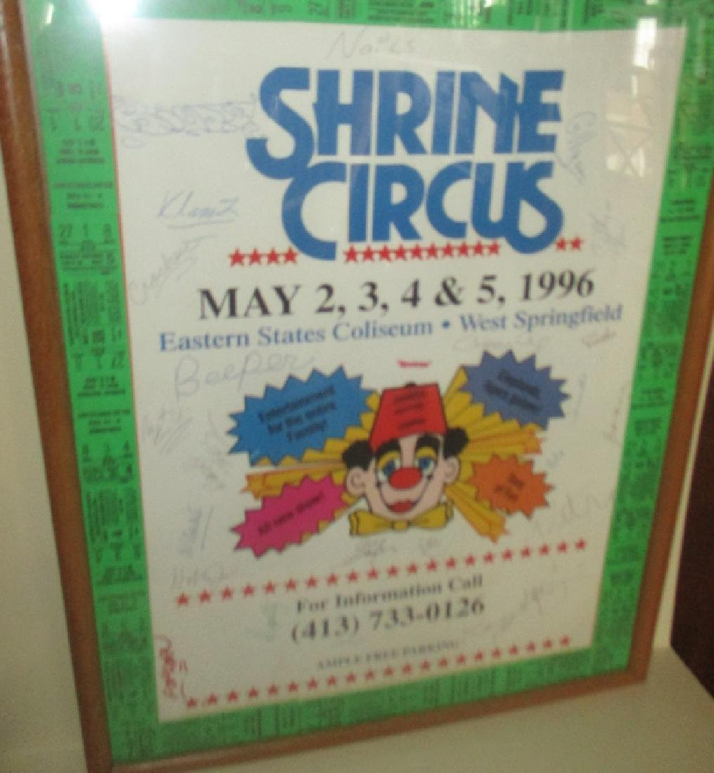 20th Century Shriner Circus Poster