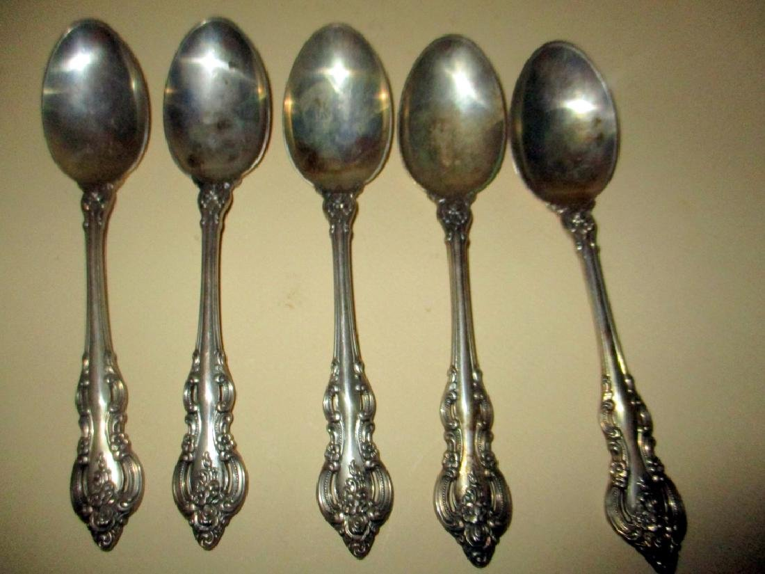 Lot of Five Sterling Spoons El Grande Pattern