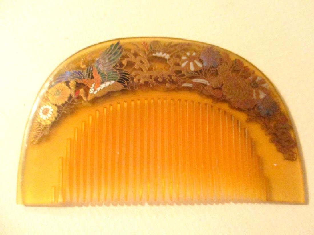 Two Japanese Hair Items Circa 1920s - 2