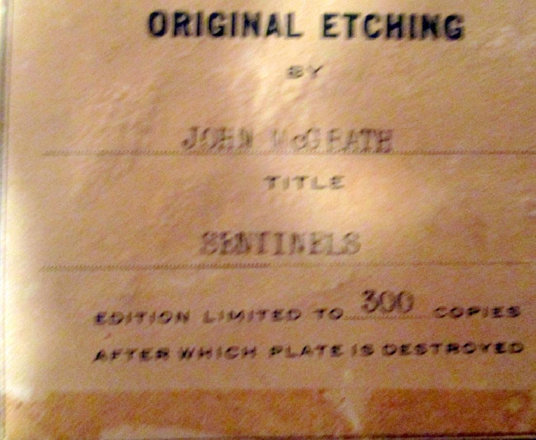 Original Etching by John McGrath - 3