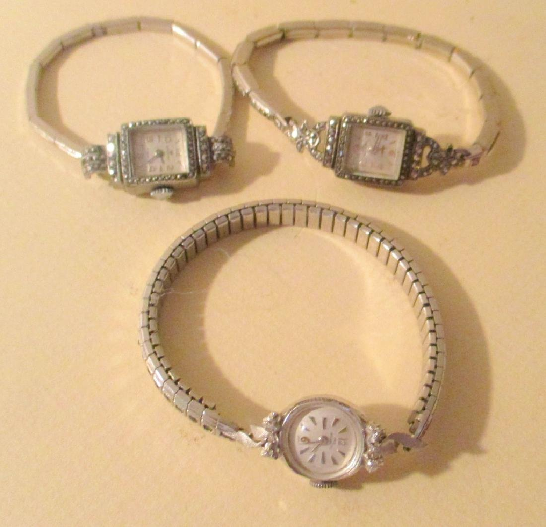 Three Lady's Cocktail Watches