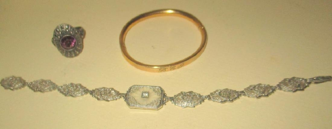 Three Pieces of Vintage Jewelry