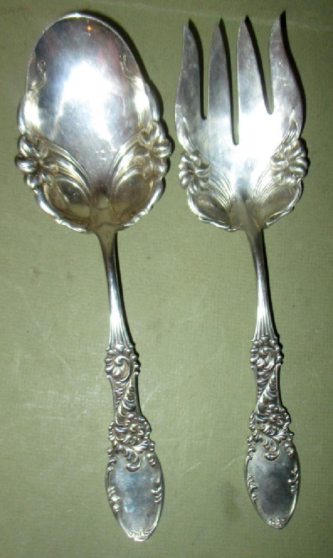 Sterling Salad Fork & Spoon