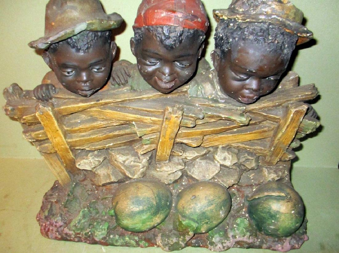 Antique African-American Chalkware Sculpture