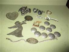 Misc Lot Sterling Items
