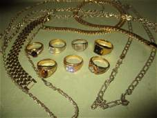 Misc Lot of Gold Filled Jewelry