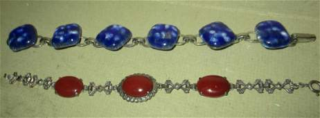 Two Vintage Bracelets Circa 1920s or 30s