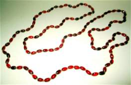 Victorian Garnet Bead Necklace
