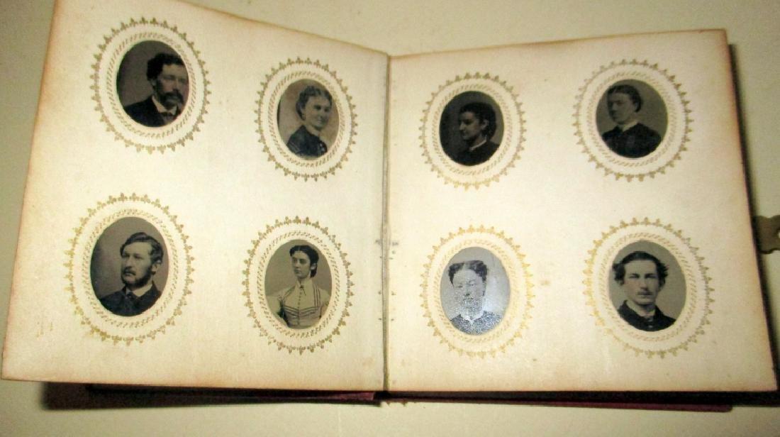 Photo Album Full of Tintypes - 2