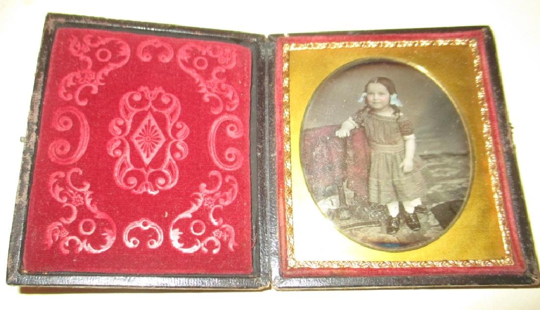 Lot of Three 19th C. Daguerreotypes - 4