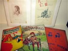 Lot of Four Vintage Children's Books