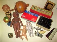 Box Lot of Antique & Vintage Children's Items