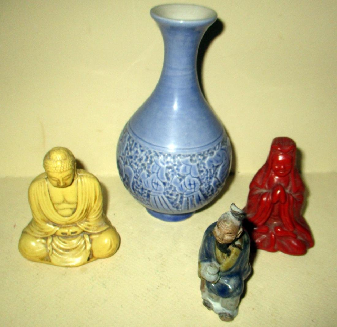 Four Pieces Lot of Chinese Items