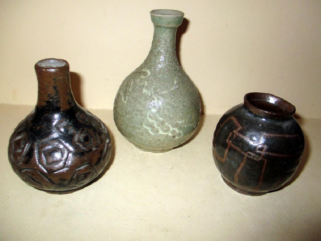 Three Pieces of Japanese Studio Pottery