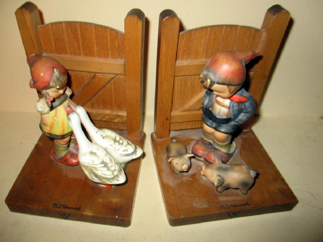 Two Hummel Bookends