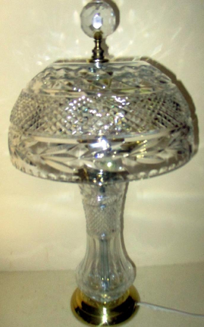 Dresden Crystal Lamp & Shade