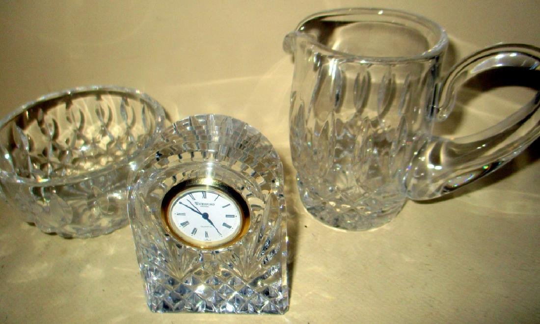 Three Piece Lot of Waterford Crystal