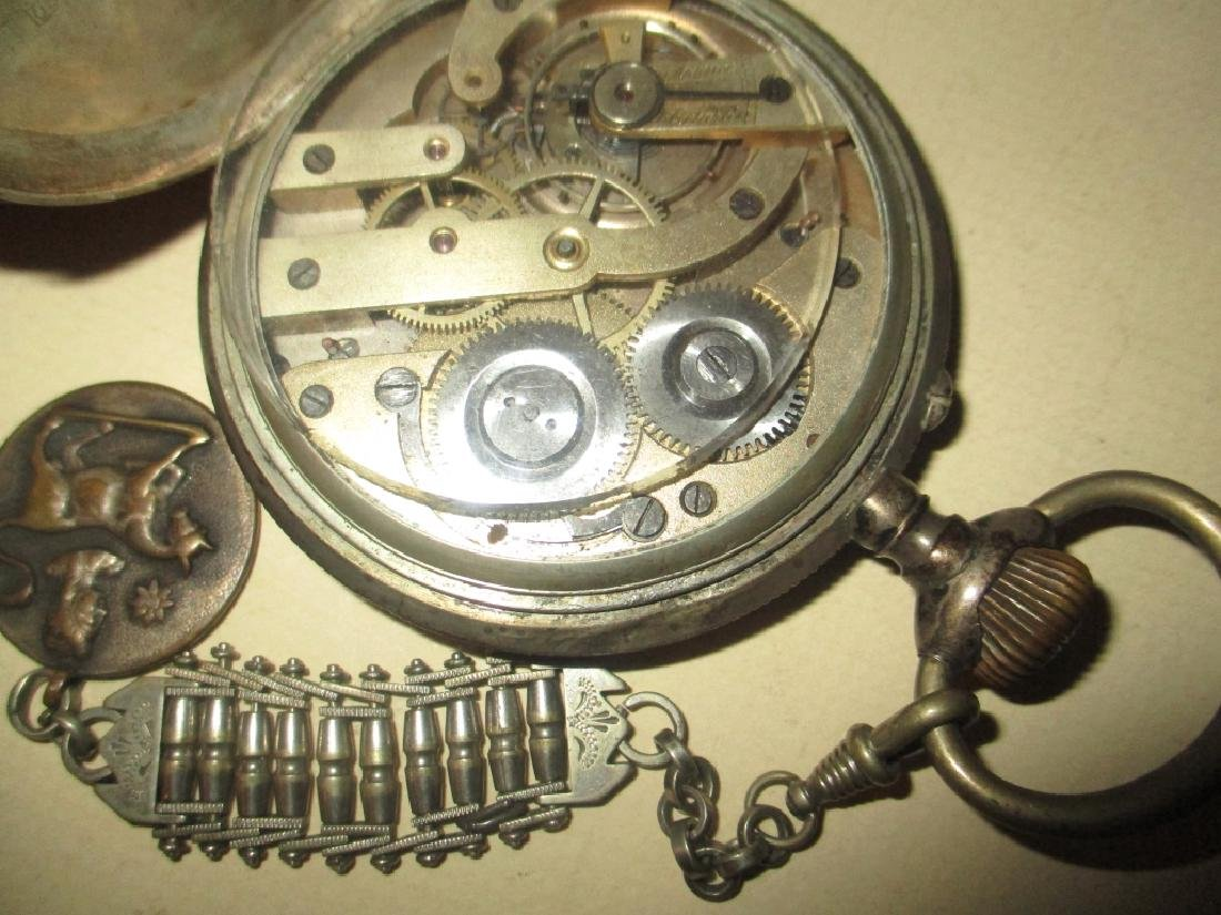 Two Silver 19th Century Watches - 4