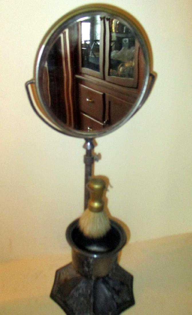 Silver Plate Victorian Shaving Stand