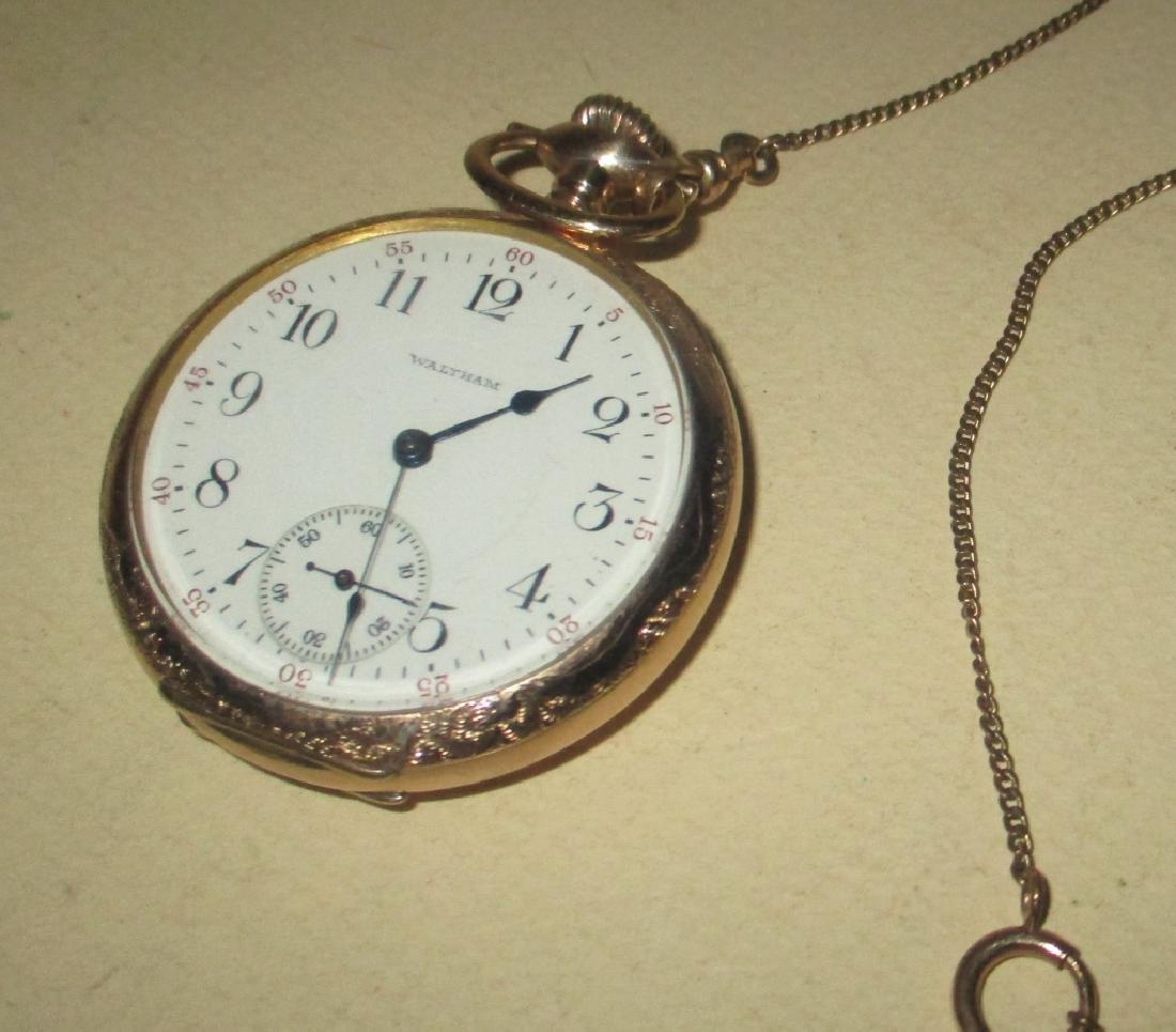 Men's Gold Filled Waltham Pocket Watch