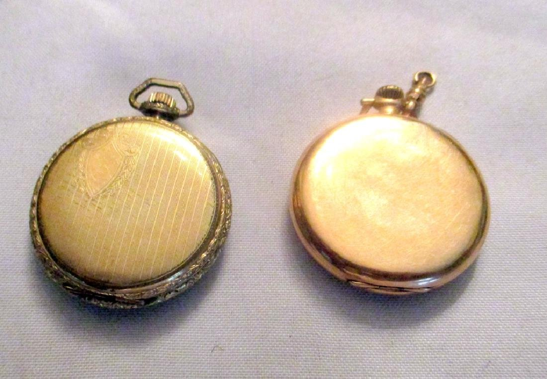 Two Men's Gold Filled Pocket Watches - 2