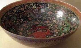 Chinese Egg Shell Porcelain Bowl