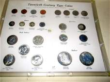 Collection of 20th Century Type Coins