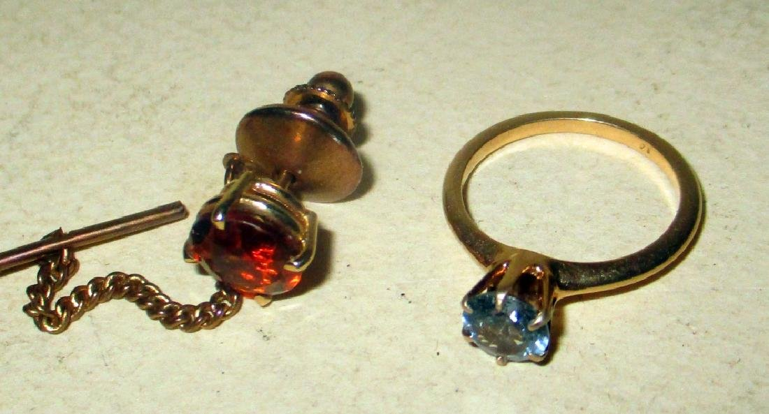 Two Piece Lot of 14k Gold Jewelry