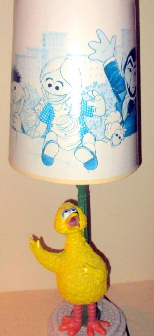 Vintage Sesame Street Big Bird Lamp