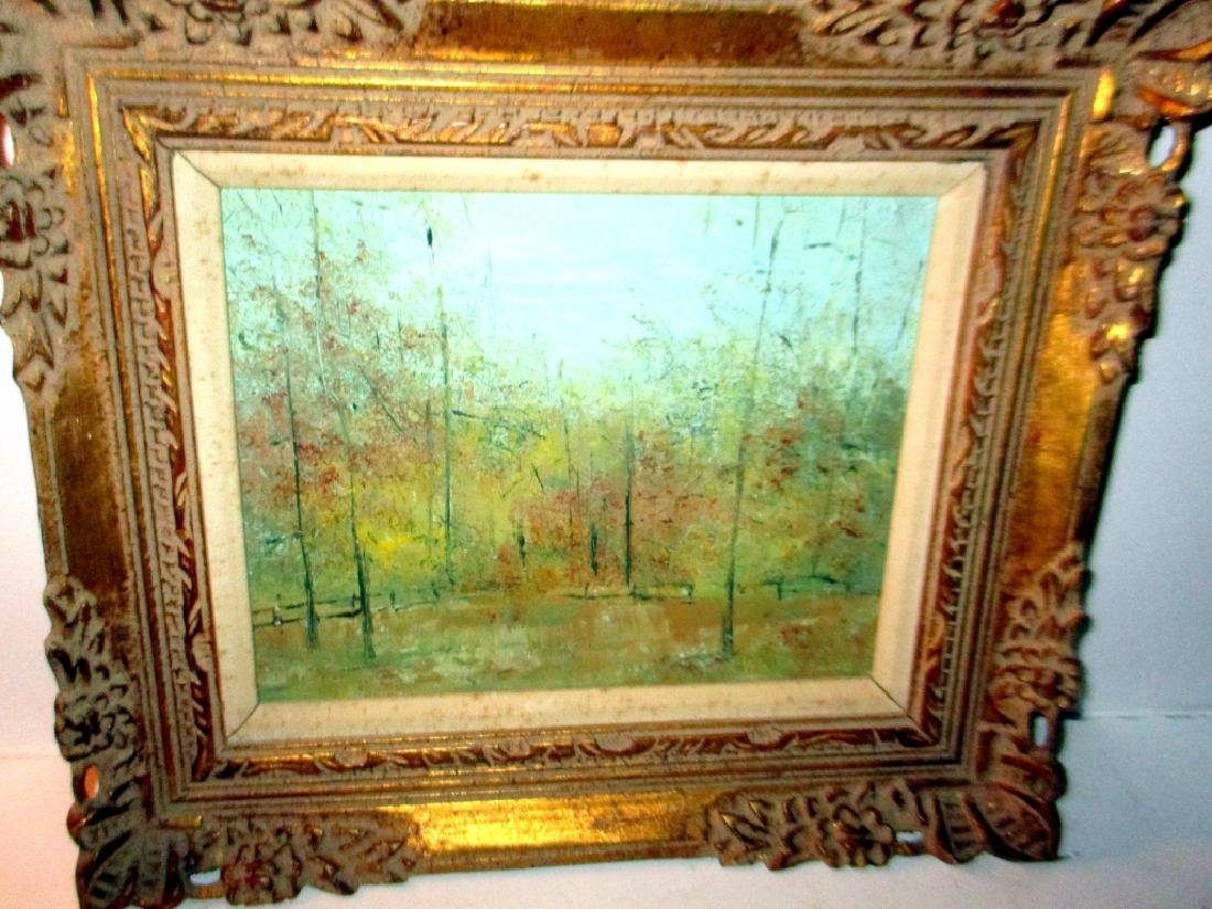 Small Oil Painting of Landscape
