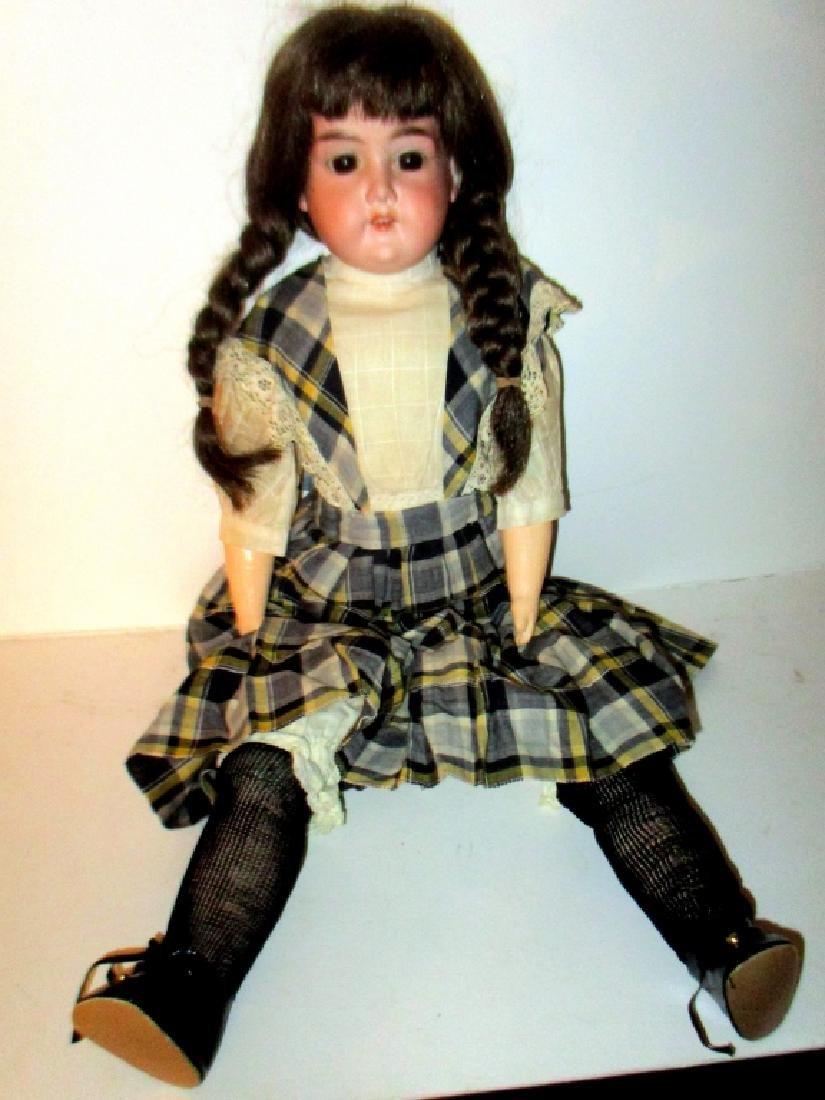 Antique Bisque Doll AM Beauty