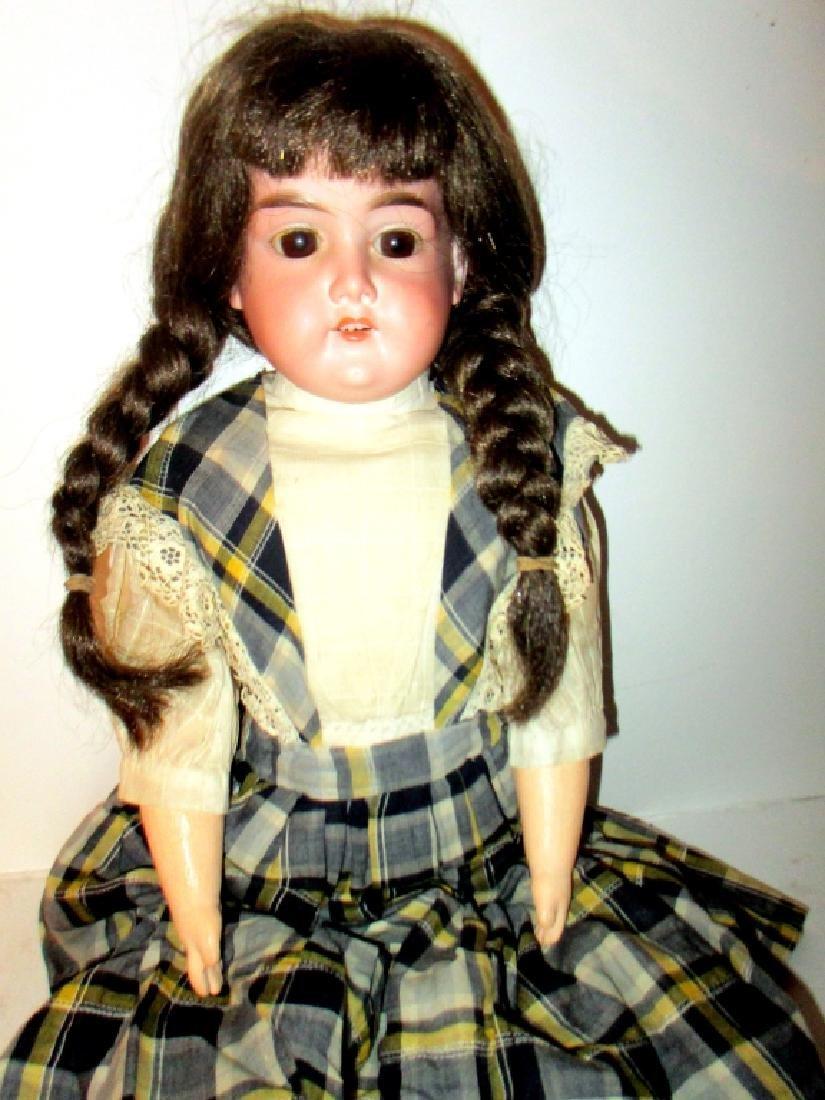 Antique Bisque Doll AM Beauty - 2