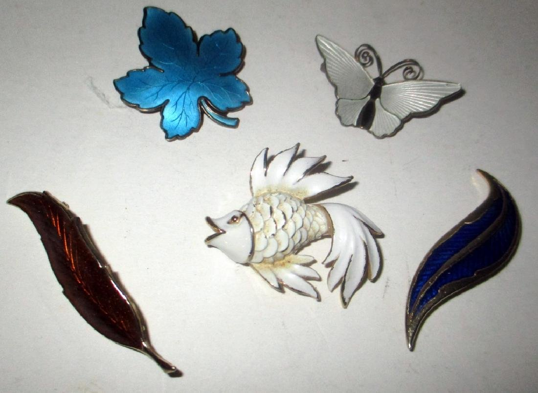 Lot of Vintage Enamel Pins