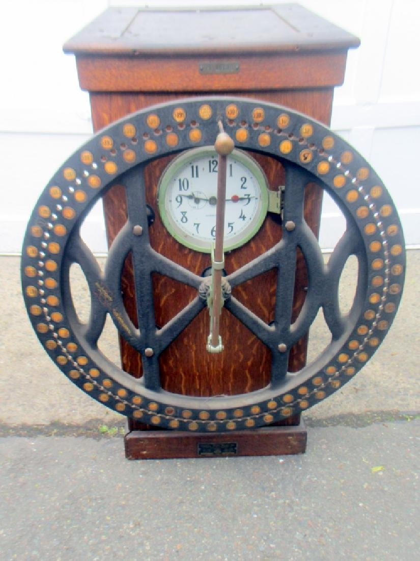 Factory Time Punch Clock by International 1916