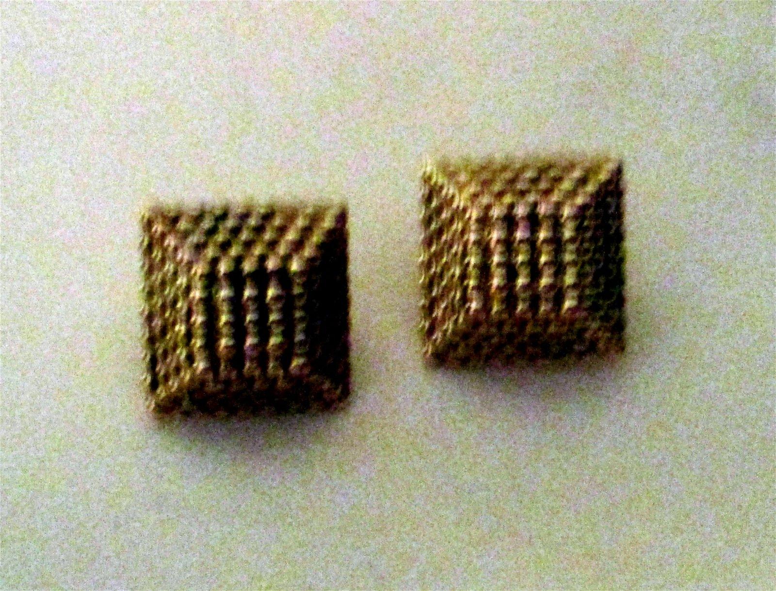 Pair of 14K Gold Earrings