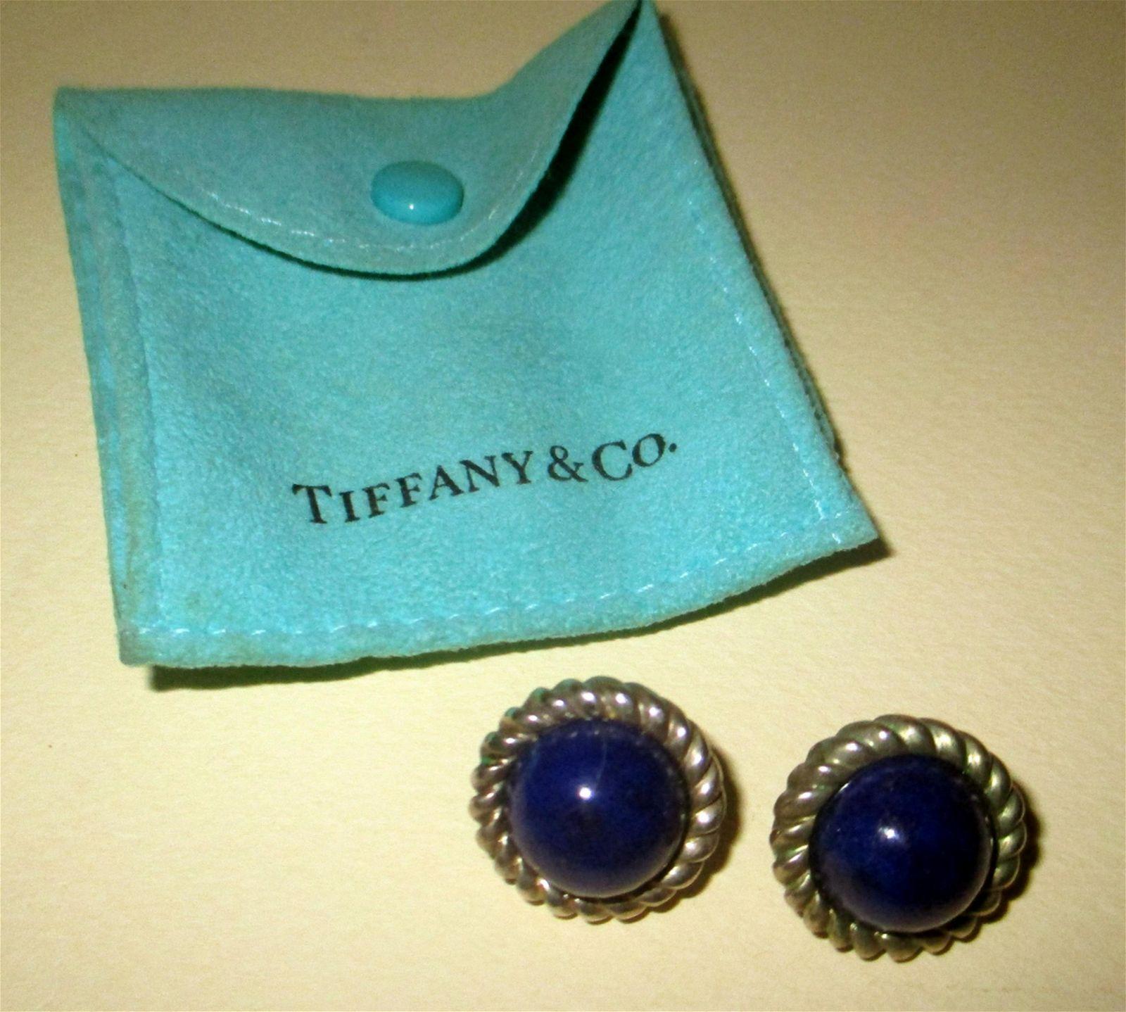 Pair of Tiffany & Co Earrings