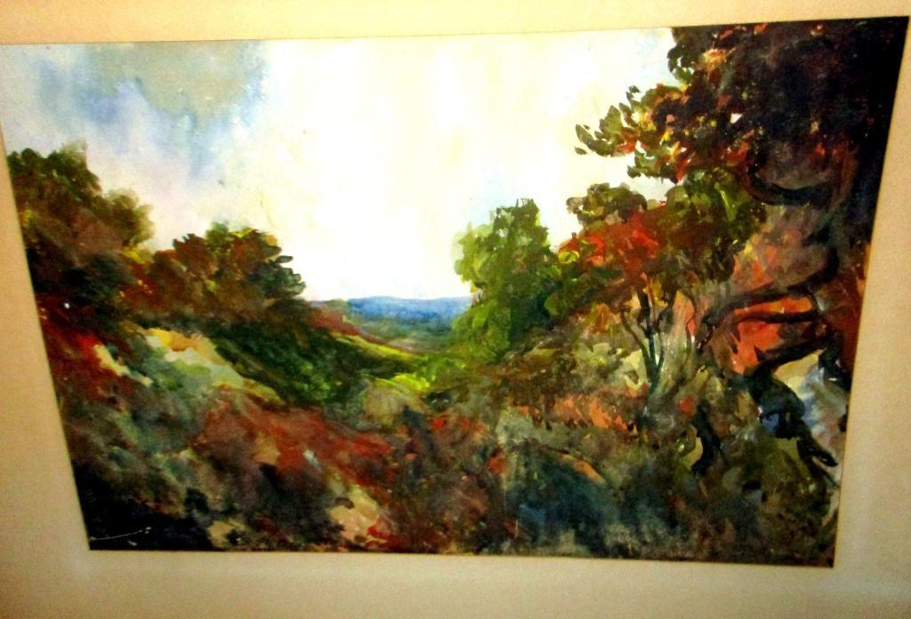 Watercolor by Phillip Little