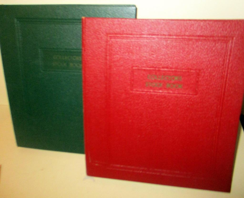 Two Collector's Stock Book
