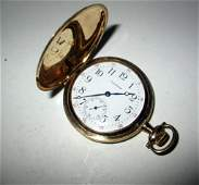 Mans 14K Gold Pocket Watch