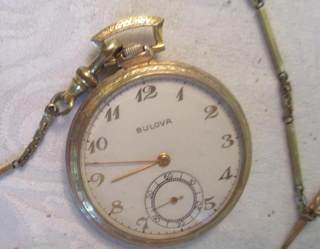 Man;s Pocket watch and Chain