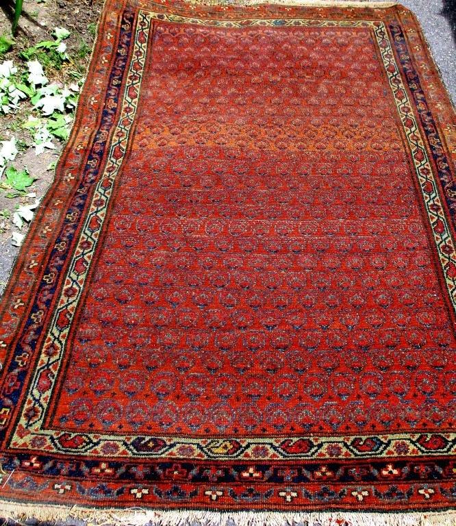 Antique Ferrahan Oriental Rug