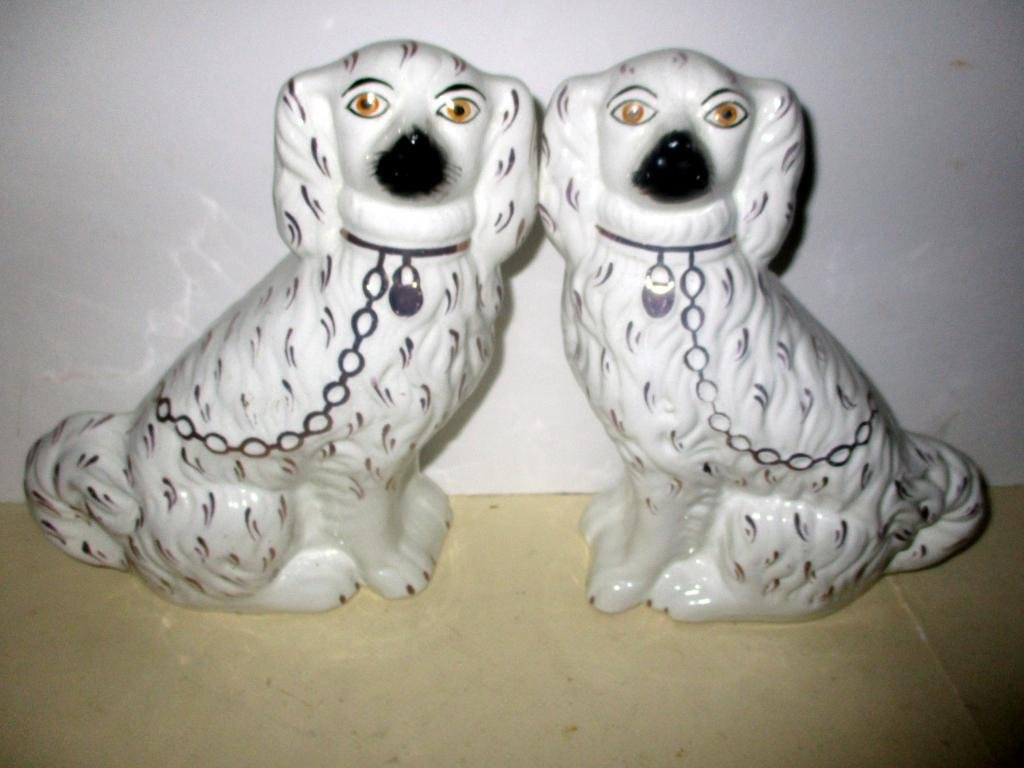 Pair of Staffordshire Dogs Circa 1820