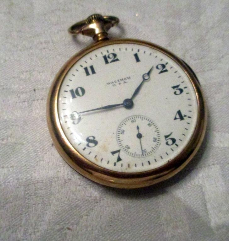 Man's 14 k  Gold Pocket Watch