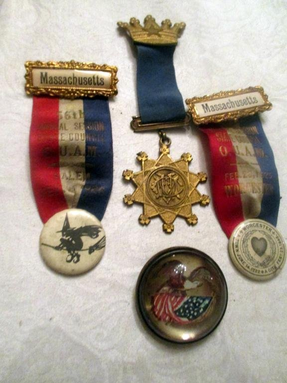 Lot of Political Medals Etc.
