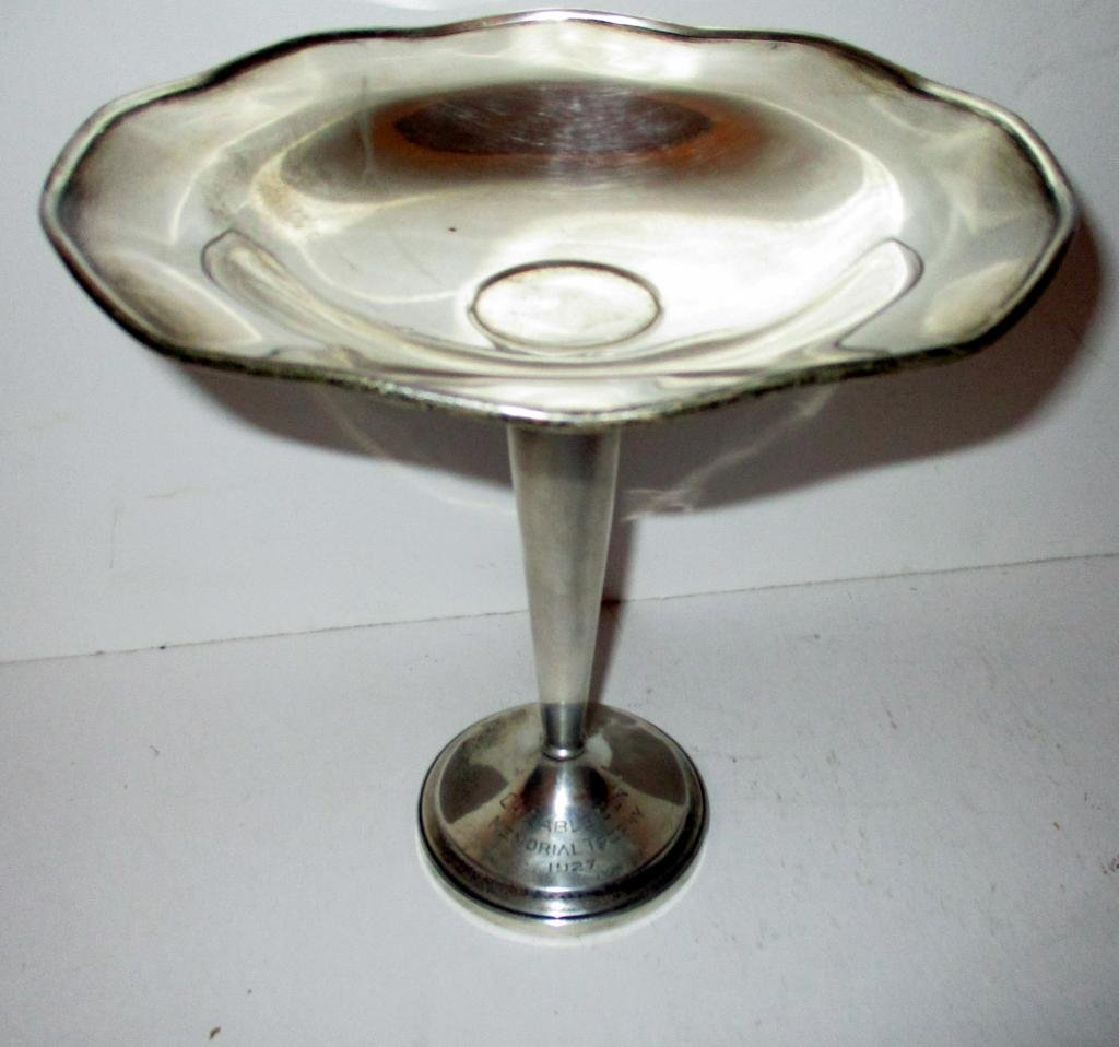 Sterling Silver Compote Trophy